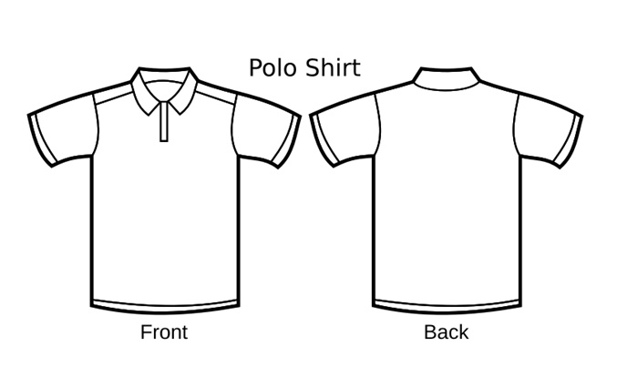 fabric consumption of a basic polo-shirt