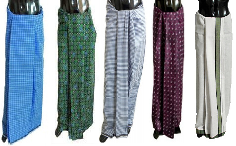 different lungi style