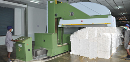 Mixing in the Spinning Mill ORDNUR TEXTILE AND FINANCE