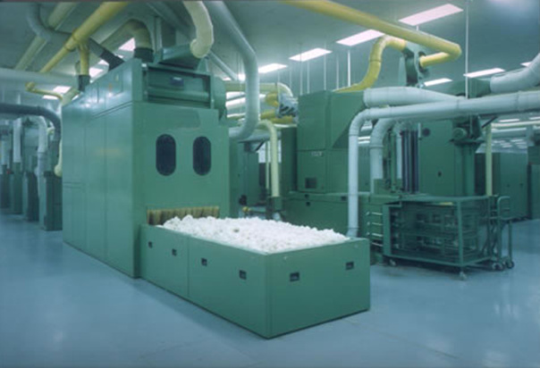 Basic Operation in Blow Room ORDNUR TEXTILE AND FINANCE