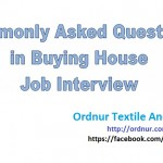 Commonly Asked Buying House Interview Questions