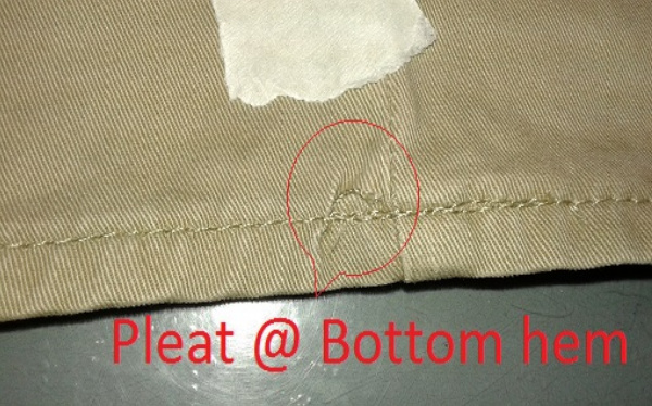 garments defects