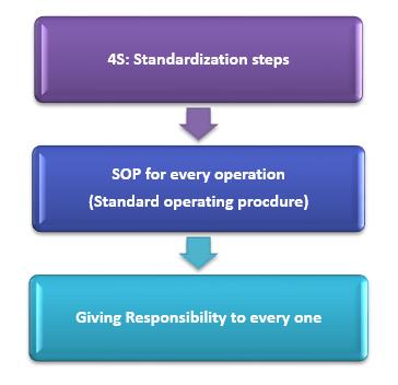 4s standardization steps