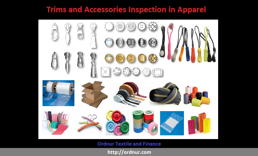 Trims and Accessories Inspection in Apparel