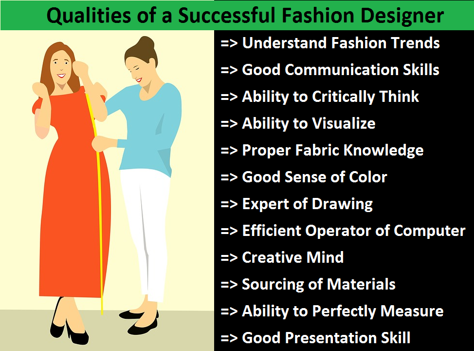 12 Qualities Of A Fashion Designer Ordnur