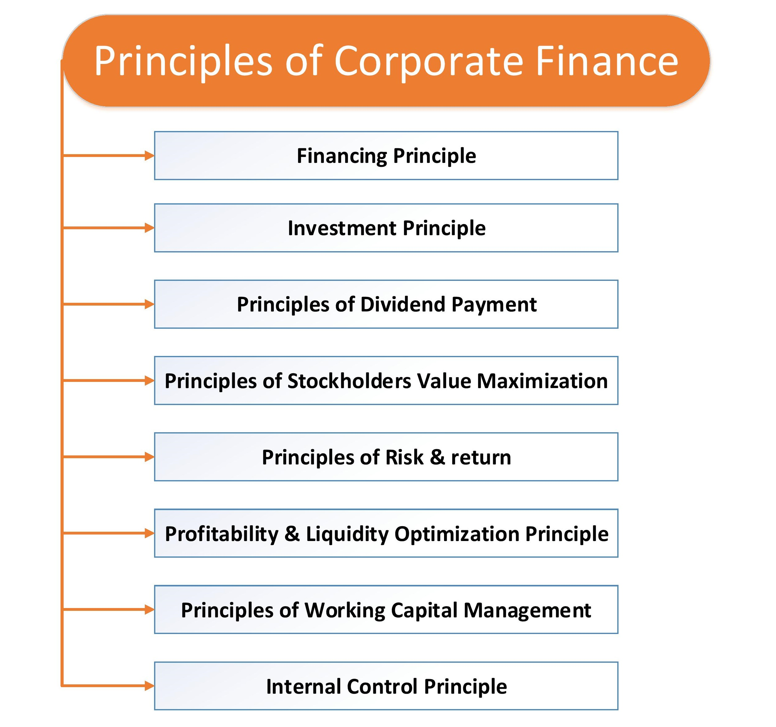 8 Must Know Corporate Finance Principles by a Successful Manager
