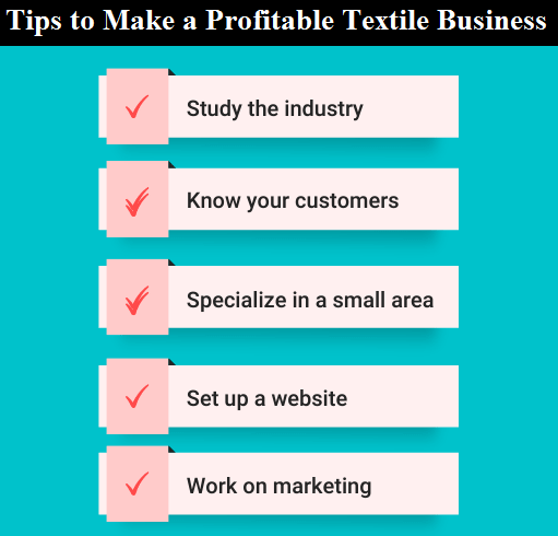 5 Tips to Make a Profitable Textile Business